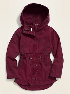 Hooded Scout Jacket for Girls