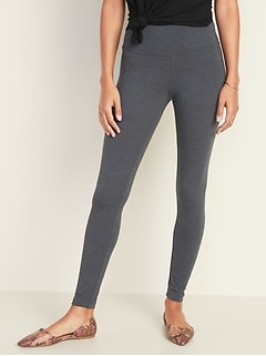 High-Waisted Jersey Leggings For Women