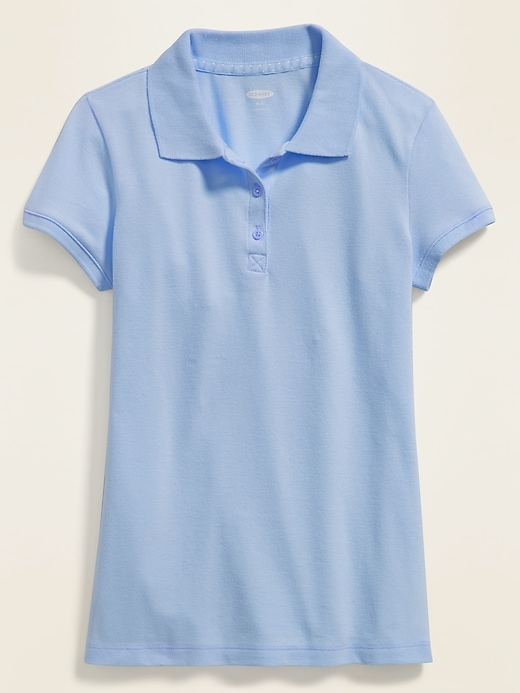 Uniform Pique Polo for Girls