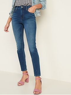 High-Waisted 24/7 Sculpt Rockstar Super Skinny Jeans for Women