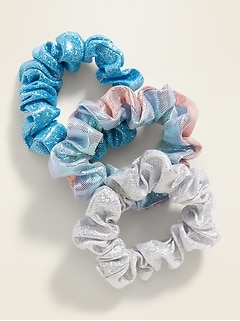 Sparkle Scrunchie 3-Pack for Girls