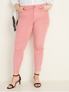 High-Waisted Secret-Slim Pockets Plus-Size Rockstar Cords