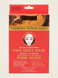 Danielle Creations® Turmeric Face Sheet Mask