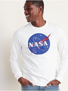 Chandail sport à imprimé NASAMD pour homme