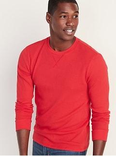T-shirt en tricot isotherme au fini soyeux pour homme
