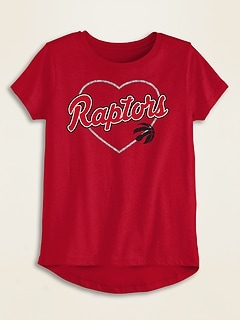 NBA® Team Heart Graphic Tee for Toddler Girls