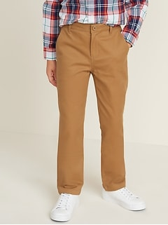 Uniform Straight Built-In Flex Khakis for Boys