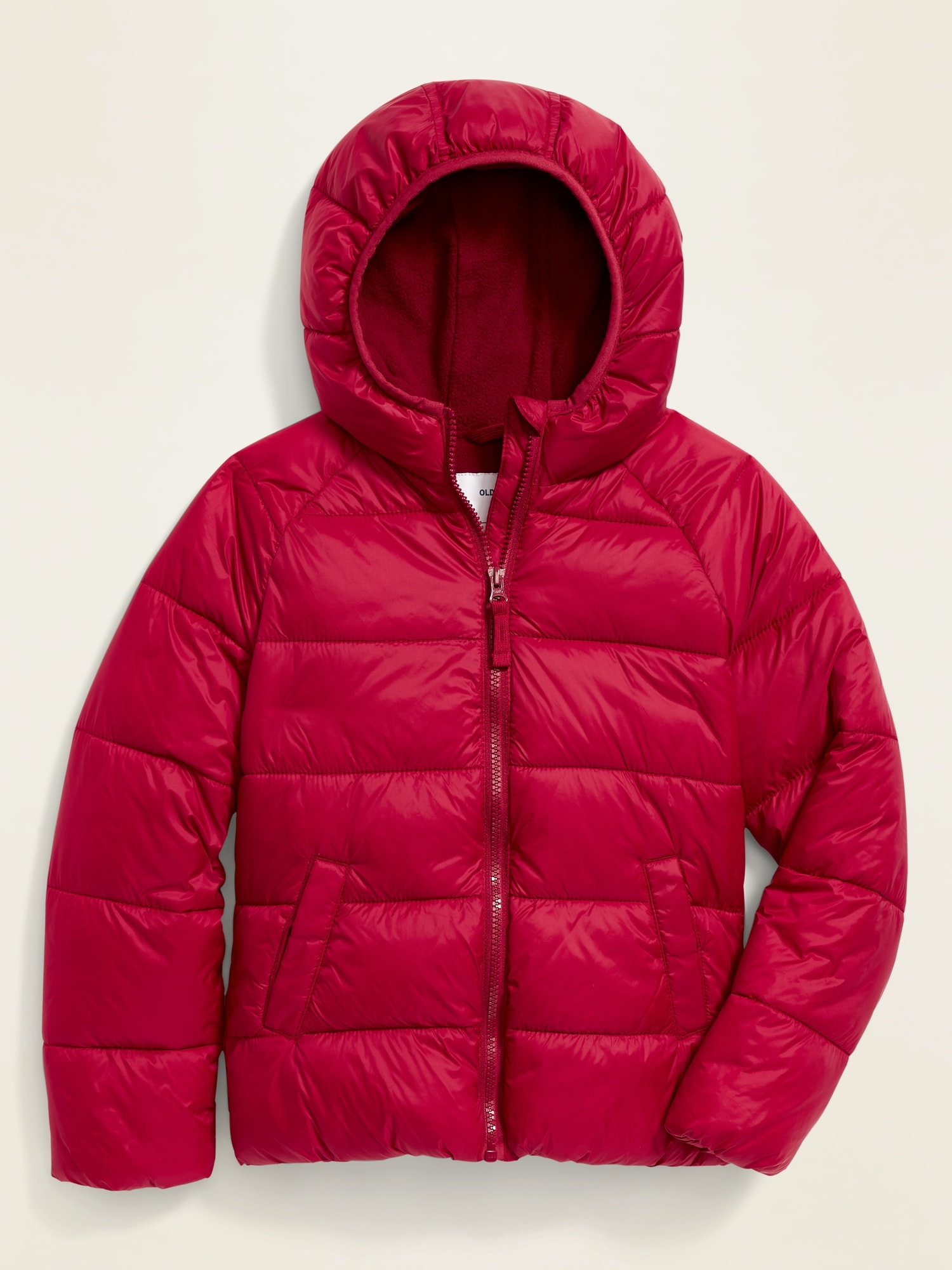 Hooded Frost Free Puffer Jacket For Girls by Old Navy