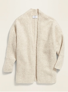 Open-Front Dolman-Sleeve Sweater for Girls