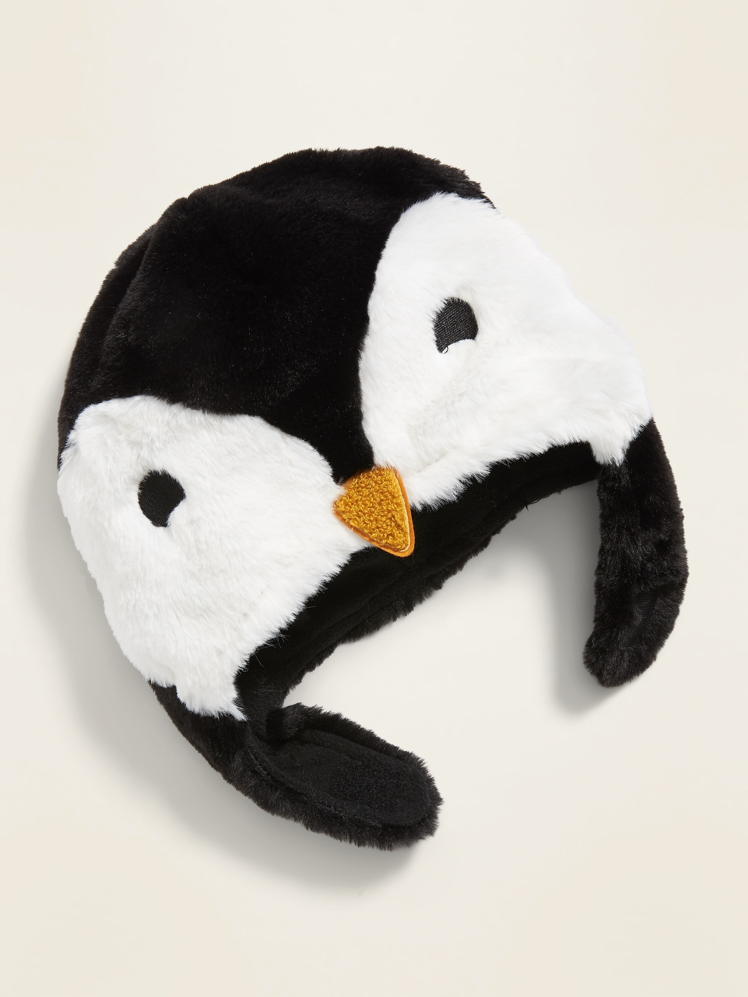 Faux Fur Penguin Trapper Hat For Toddler by Old Navy