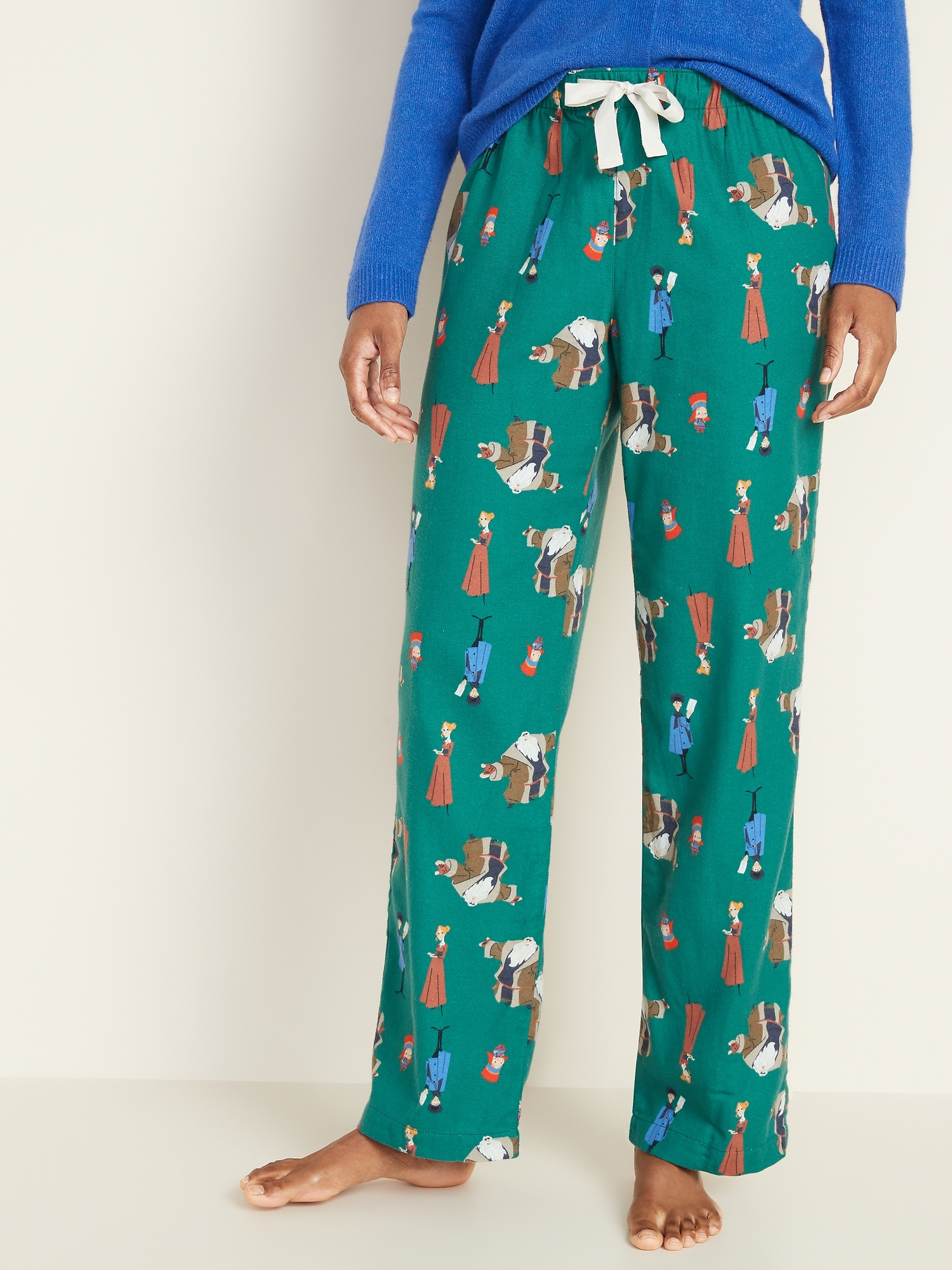 Klaus™ X Old Navy Flannel Pajama Pants For Women by Old Navy
