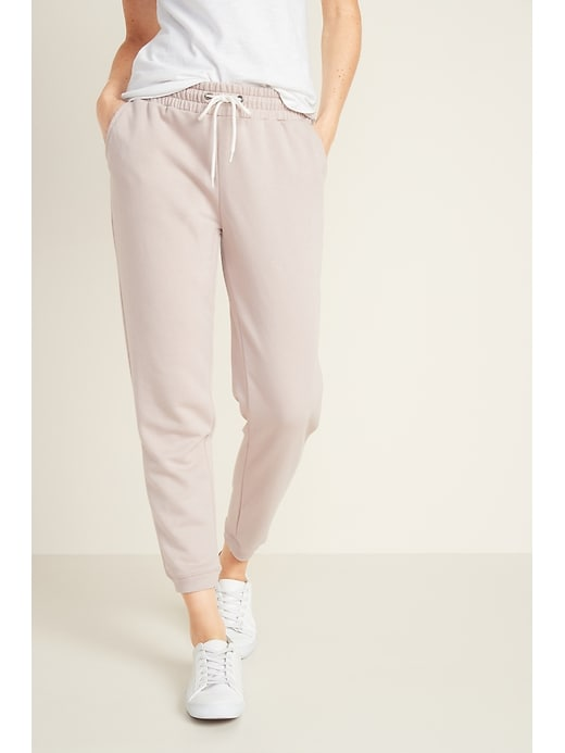 French-Terry Jogger Pants for Women