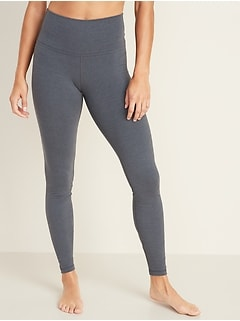 High-Waisted Balance Ladder 7/8-Length Leggings