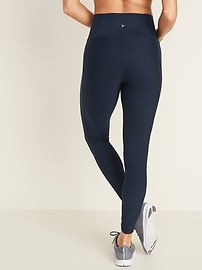 High-Waisted Elevate Built-In Sculpt 7/8-Length Compression Leggings For Women