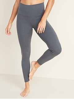 High-Waisted Balance Yoga 7/8-Length Leggings for Women