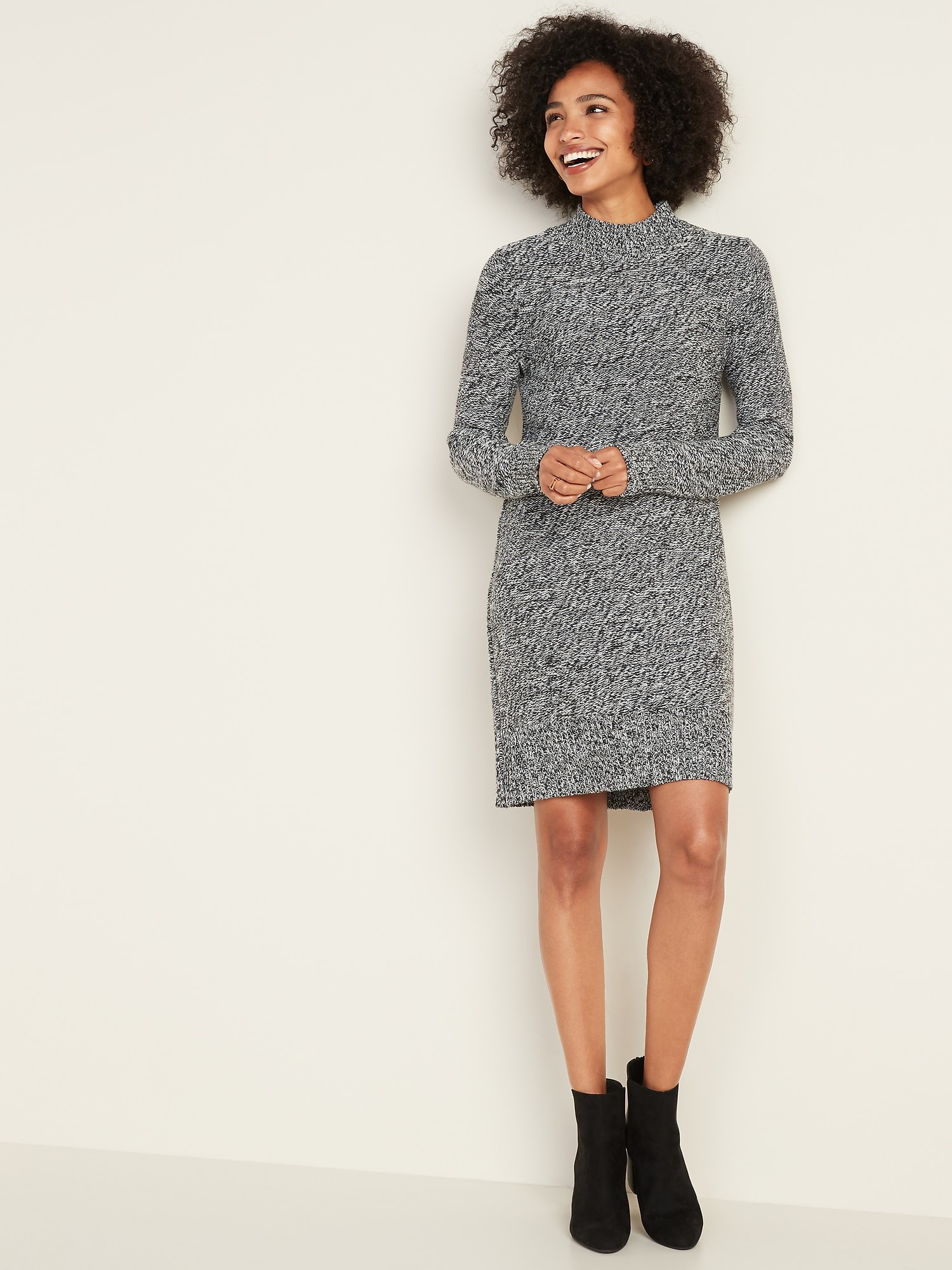 Textured Marl Sweater Dress For Women by Old Navy
