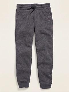 Pantalon d'entraînement en molleton pour garçon