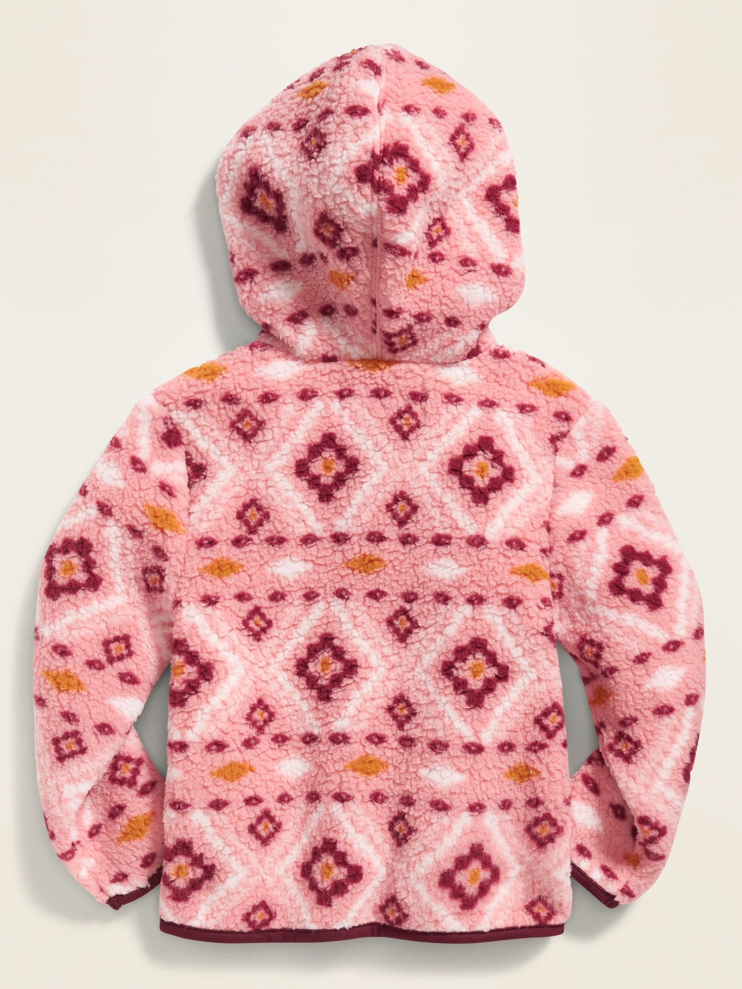 NEW GAP SHERPA RED LOGO HOODIE SIZE 12-18-24M 2T 3T 4T 5T