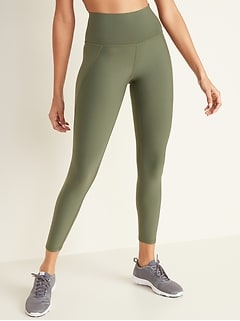 Legging de compression Built-In Sculpt mi-long à taille haute pour femme