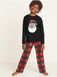 Graphic Pajama Set for Boys
