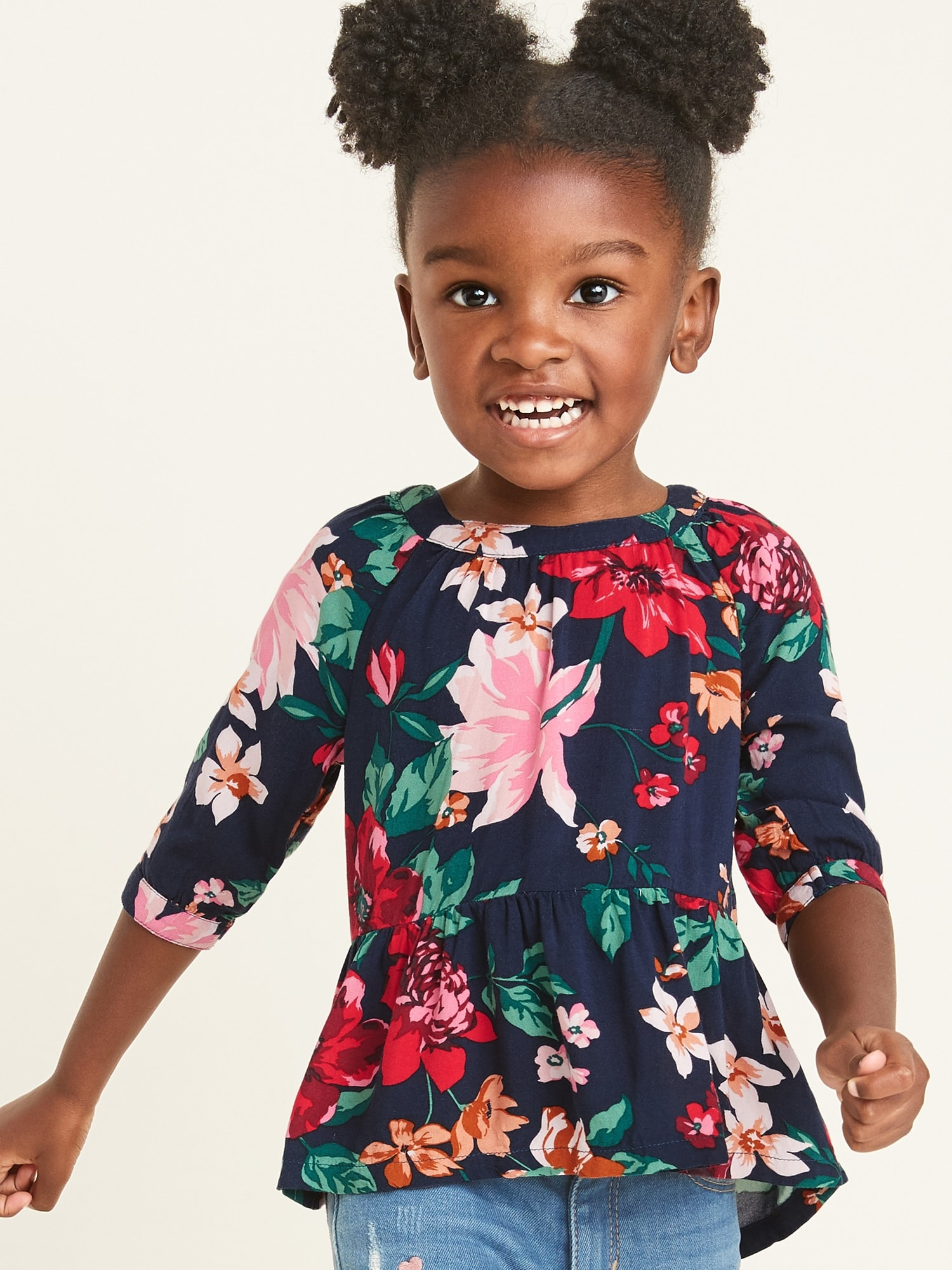 floral-print-peplum-hem-tunic-for-toddler-girls by old-navy