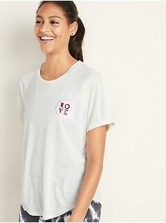 T-shirt Breathe ON à manches chauve-souris pour femme
