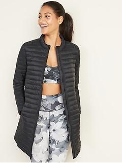 Lightweight Long-Line Jacket for Women