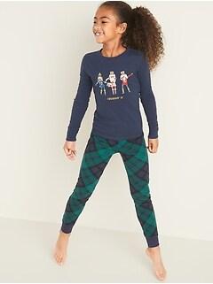 Pyjama 2pièces à imprimé pour fille