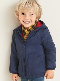 Veste à capuchon doublée en molleton Performance Fleece pour tout-petit garçon