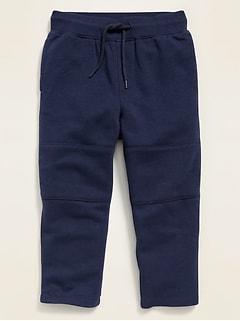 Pantalon en molleton avec coulisse fonctionnelle pour tout-petit garçon