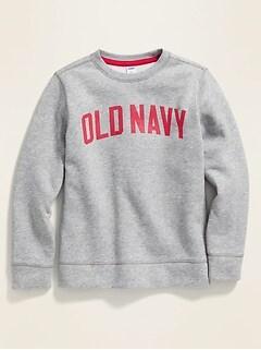 Logo-Graphic Sweatshirt for Boys