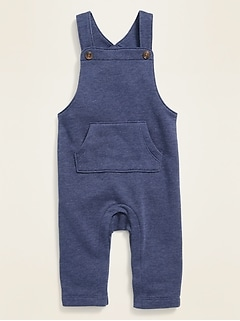 Fleece-Knit Overalls for Baby
