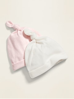 Unisex Cozy Beanie 2-Pack for Baby