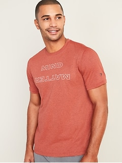 Go-Dry Cool Odor-Control Core Graphic Tee for Men