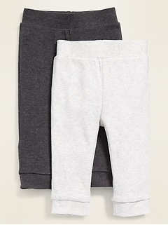 Jersey-Knit Leggings 2-Pack for Baby
