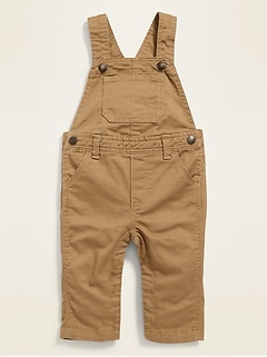 Twill Overalls for Baby
