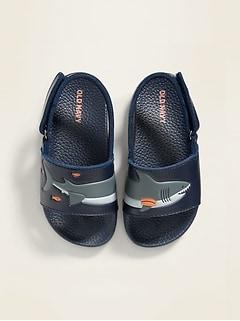 Sandales de piscine à motif animalier pour tout-petit garçon