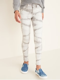 Ballerina Built-In Tough Tie-Dye Jeggings for Girls