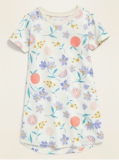 Floral-Print Nightgown for Toddler Girls & Baby
