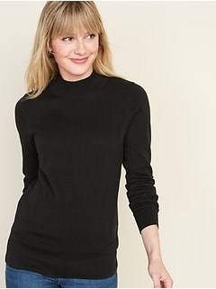 Rib-Knit Turtleneck for Women