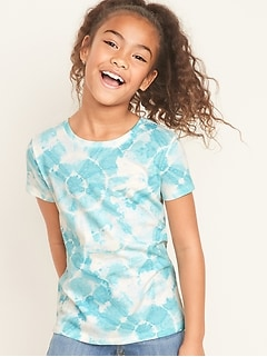 Softest Tie-Dye Tee for Girls