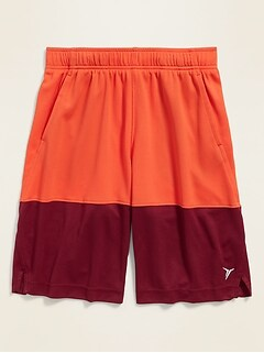 Go-Dry Mesh Basketball Shorts for Boys
