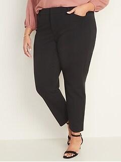 Pantalon Pixie à poches Secret amincissant à taille haute, taille Plus