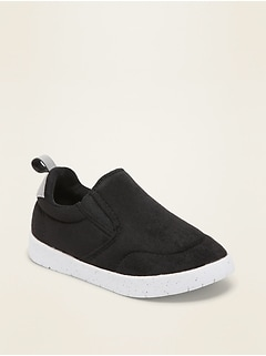 Lightweight Faux-Suede Slip-On Sneakers for Toddler & Baby