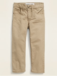 Straight Built-In Flex Chinos for Toddler Boys