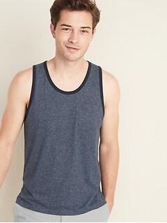 Soft-Washed Chest-Pocket Tank Top for Men