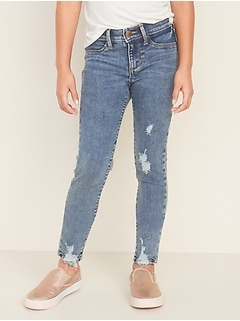 Ballerina Built-In Tough Distressed Jeggings for Girls