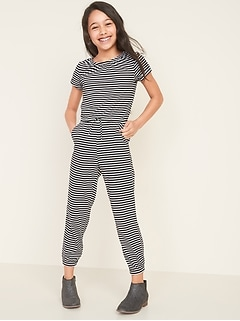 Printed Jersey Jumpsuit for Girls