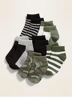 Ankle Socks 6-Pack for Toddler & Baby