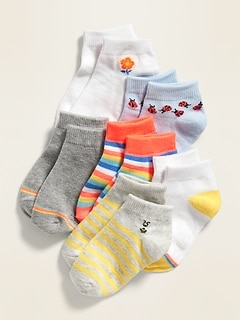 Ankle Socks 6-Pack for Toddler & Baby